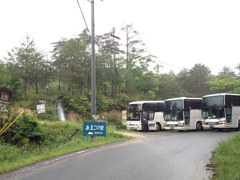 大型バス駐車可