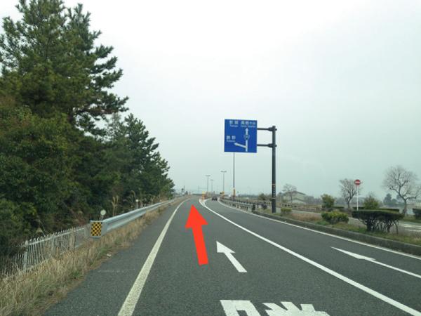京都方面から国道161号